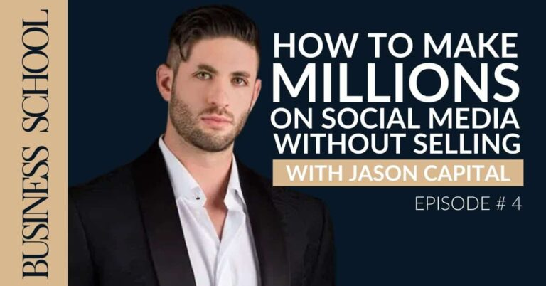 How To Make Millions On Social Media (without selling) with Jason Capital